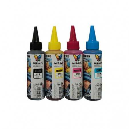 4x100ml Dye ink use for Epson