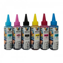 02 CISS Dye ink 6x100 use for HP