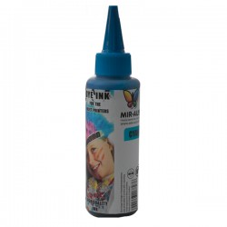 02 CISS Dye ink 100ml Cyan use for HP