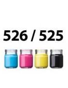 Refill ink for CLI-526BK , PGI-525BK (Pigment) CLI-525Y CLI-525M CLI-525C